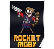 Rocket Rigby  Poster