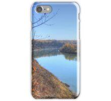 North Saskatchewan River - Autumn iPhone Case/Skin