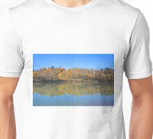 North Saskatchewan River in the fall Unisex T-Shirt