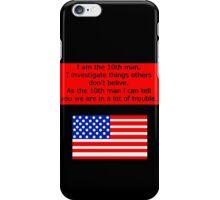 10th man  iPhone Case/Skin