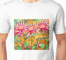 Pink Waterlillies  Unisex T-Shirt