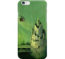 mossy cave iPhone Case/Skin