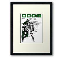 Dr.Doom Framed Print