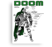 Dr.Doom Canvas Print