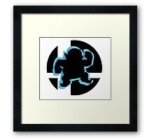 SUPER SMASH BROS: WARIO -Wii U Framed Print