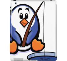 HeinyR- Fishing Penguin iPad Case/Skin