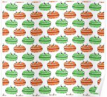 Macaron Pattern Poster