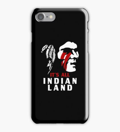 It's All Indian Land, Native American T-Shirt, Standing With Rock No Pipeline iPhone Case/Skin