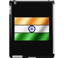Indian Flag - India - Metallic iPad Case/Skin