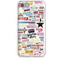 Musicals iPhone Case/Skin