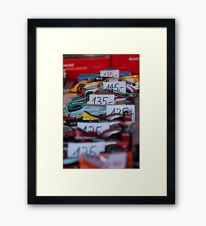 Auto trading... Framed Print