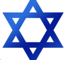 Israeli Flag - Israel - Heart Sticker