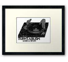 American Hip Hop - Turtablism Framed Print