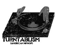 American Hip Hop - Turtablism Photographic Print
