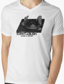 American Hip Hop - Turtablism Mens V-Neck T-Shirt