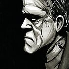 Frankenstein's Monster by jarofcomics