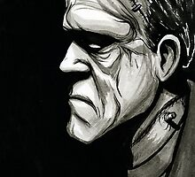 Frankenstein's Monster by jarofcomics