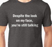 Funny Sarcastic English Quotes Saying Novelty Unisex T-Shirt