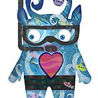 Snorkel Monster by alphabetty