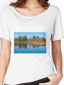 Foliage Reflections Women's Relaxed Fit T-Shirt