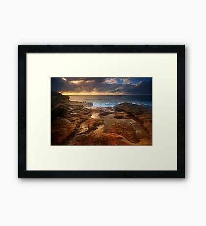 World is a treasure! Framed Print