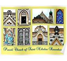 Parish Church Saint Nikolas Rosenheim Poster