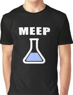 MEEP Science Beaker  Graphic T-Shirt