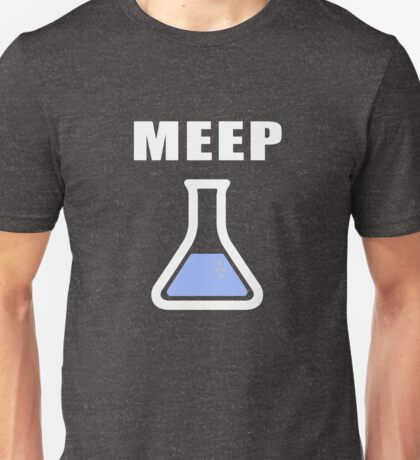 MEEP Science Beaker  Unisex T-Shirt