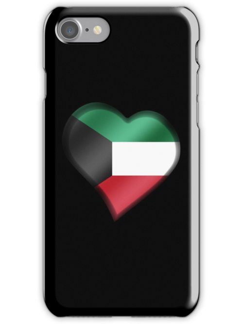 Kuwaiti Flag - Kuwait - Heart by graphix