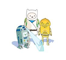 Adventure Time - Star Wars Crossover  by jaredmunson