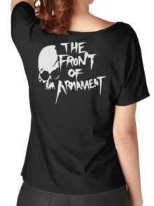 The Front of Armament - Text Women's Relaxed Fit T-Shirt