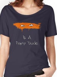 Michelangelo Is A Party Dude Women's Relaxed Fit T-Shirt