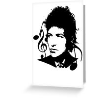 Bob Dylan - Stylized Greeting Card
