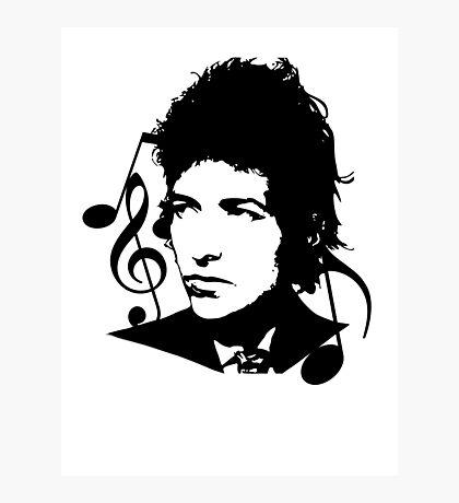 Bob Dylan - Stylized Photographic Print