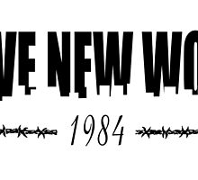 BRAVE NEW WORLD 1984 by JamesChetwald