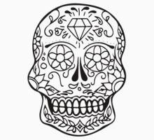 Sugar Skull  One Piece - Short Sleeve
