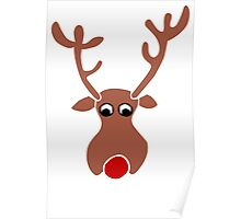 Rudolph The Reindeer Poster