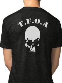 The Front of Armament - Skull Tri-blend T-Shirt