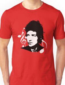 Bob Dylan - Stylized White Ver. Unisex T-Shirt
