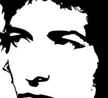 Bob Dylan - Stylized White Ver. Sticker