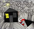 Sneaking off on Halloween by Alberto  DeJesus