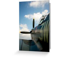 To the skies Greeting Card