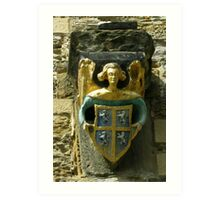 Gargoyle - Durham Cathedral Art Print