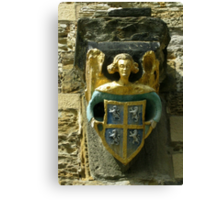 Gargoyle - Durham Cathedral Canvas Print
