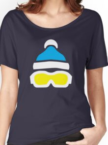 Ski Goggles & Bobble Hat  Women's Relaxed Fit T-Shirt