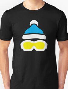 Ski Goggles & Bobble Hat  Unisex T-Shirt