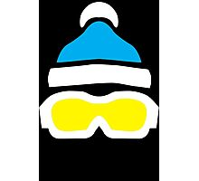 Ski Goggles & Bobble Hat  Photographic Print