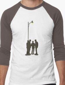 Four Guys Under A Streelamp Men's Baseball ¾ T-Shirt
