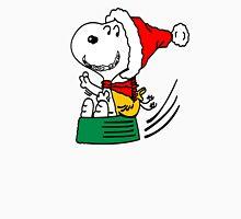 Snoopy Santa Christmas Unisex T-Shirt