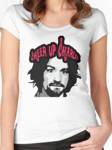 Cheer Up, Charlie!   Women's Fitted Scoop T-Shirt